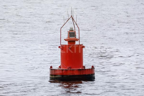 Boa rosso acqua lago outdoor nessuno Foto d'archivio © SRNR