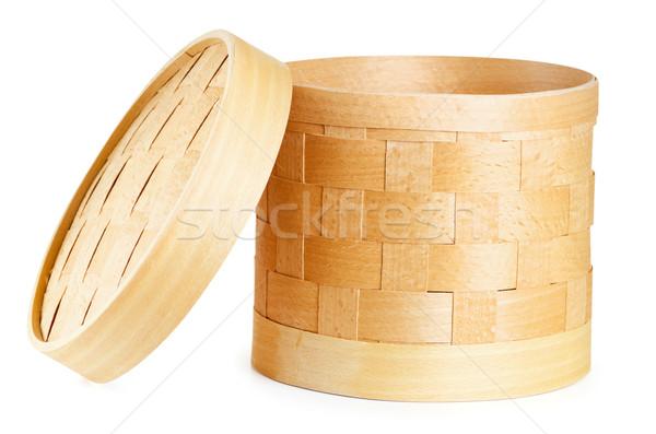 Birch bark container Stock photo © SRNR