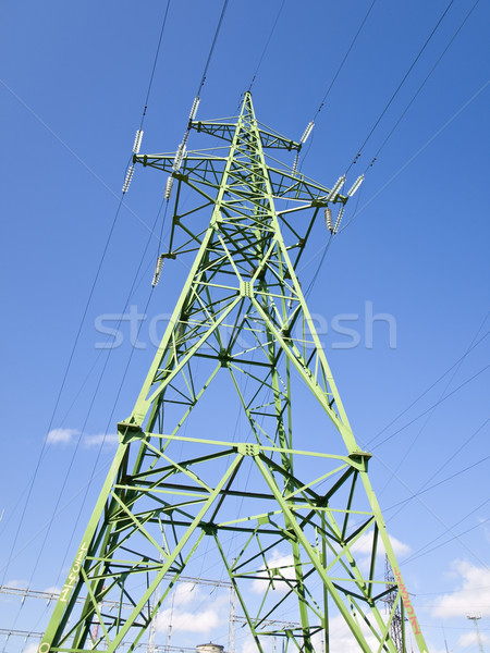 electricity tower Stock photo © SRNR