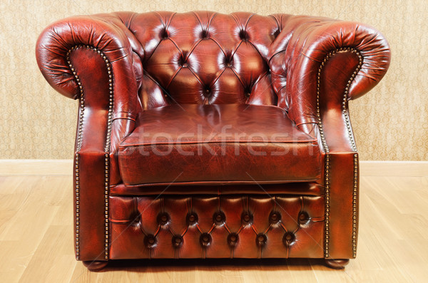 Old Antique Armchair Stock photo © SRNR