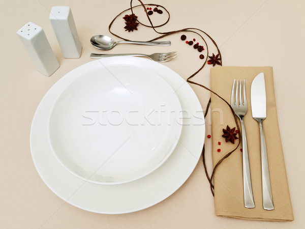 place settings Stock photo © SRNR