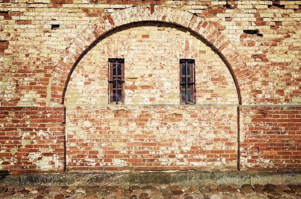 アーチ 2 窓 建物 ウィンドウ ストックフォト © SRNR