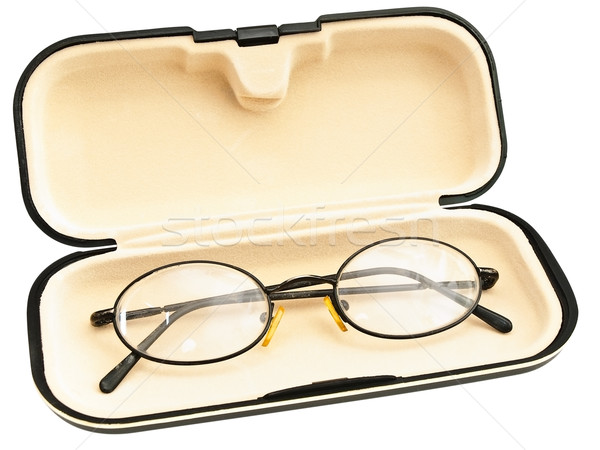 eyeglasses in eyeglass case Stock photo © SRNR