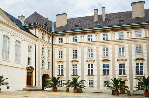 Prague Castle Courtyard Stock photo © SRNR