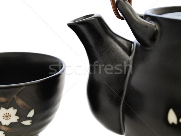 Arts de la table chinois thé cérémonie photo Photo stock © SRNR