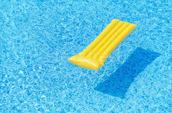 空気 マットレス 水 プール 夏 おもちゃ ストックフォト © SRNR