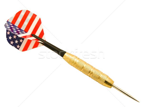 Pens fotoğraf beyaz spor dizayn oyuncak Stok fotoğraf © SRNR