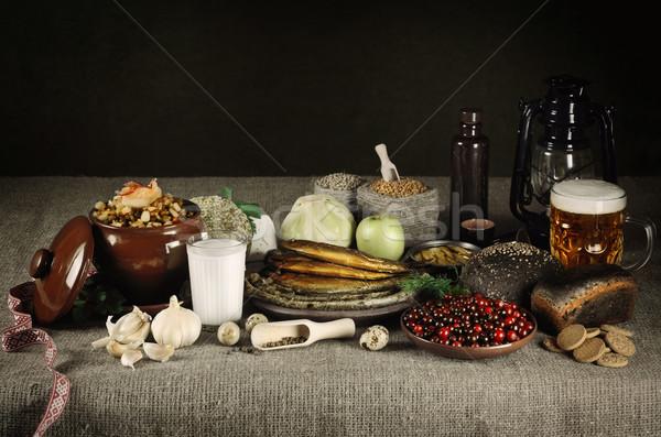 Latvian Food Stock photo © SRNR