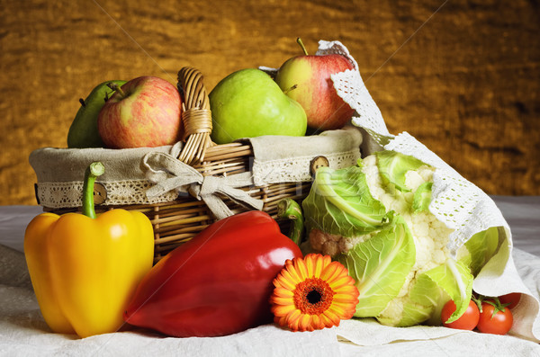Vegetables And Fruits Stock photo © SRNR