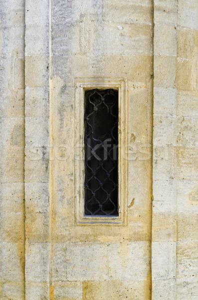Wąski okno stary dom domu domu vintage Zdjęcia stock © SRNR