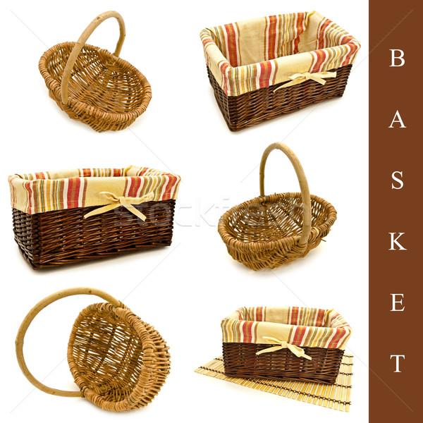 set of baskets Stock photo © SRNR