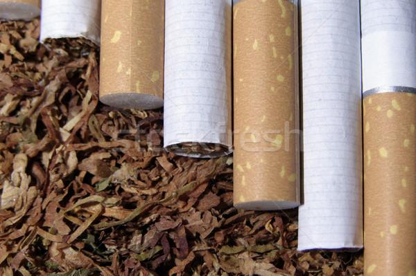 Tabacco fumo sigaretta gusto Foto d'archivio © SRNR