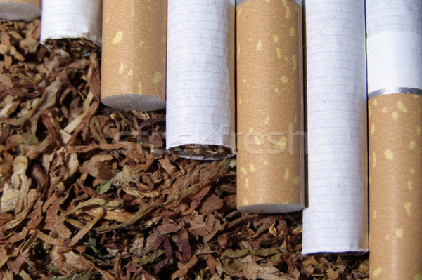 Tabak rook sigaret smaak Stockfoto © SRNR