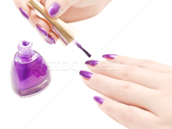 manicure Stock photo © SRNR