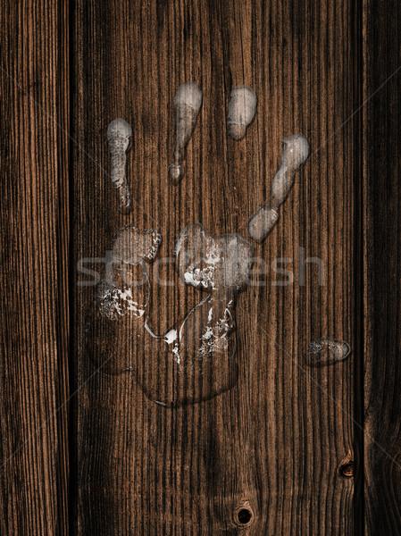 Hand print Stock photo © SRNR