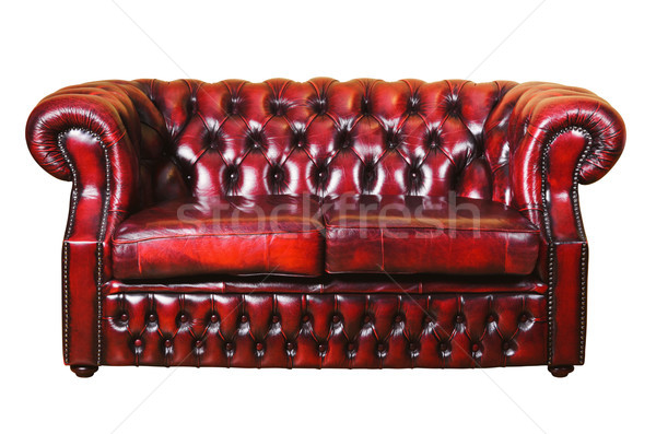 Leather Sofa Stock photo © SRNR