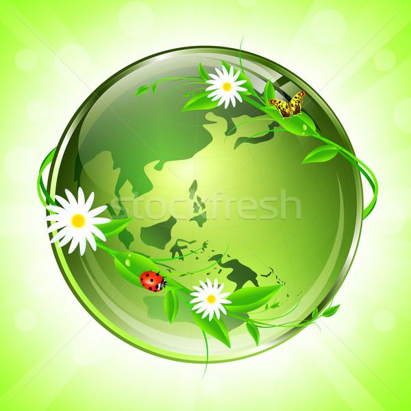 Eco globe Stock photo © SRNR