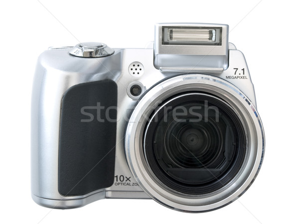 Isolated digital camera against the white background Stock photo © SRNR