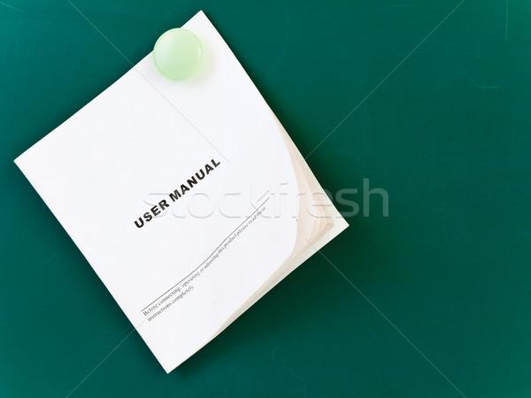 user manual Stock photo © SRNR