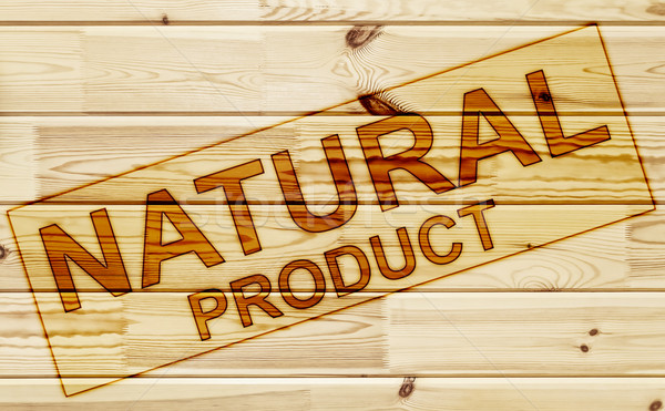 Membro naturalismo produto superfície madeira Foto stock © SRNR
