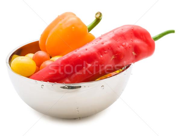 Stock photo: vegetable bowl