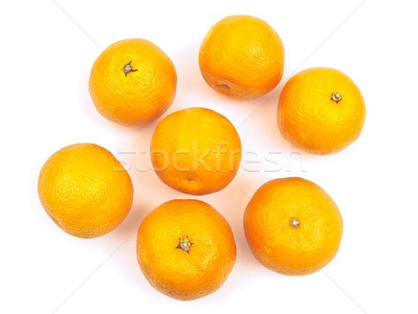 orange mandarines Stock photo © SRNR