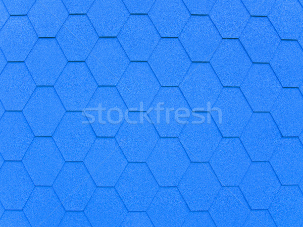 Blue background in roofing style Stock photo © SRNR