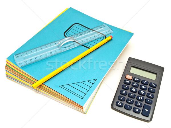 Notebooks Stack Stock photo © SRNR
