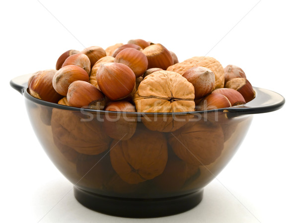 Hazelnuts and Walnuts Stock photo © SRNR