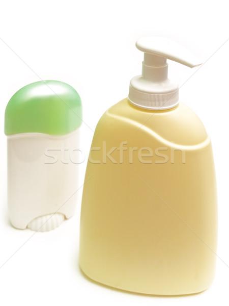 Sabão desodorante branco banheiro cuidar Foto stock © SRNR