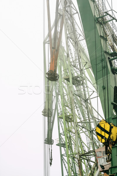 Port Cranes Stock photo © SRNR