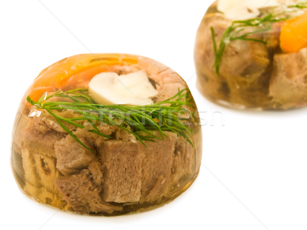 meat aspic Stock photo © SRNR
