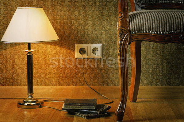 Stock photo: Lamp