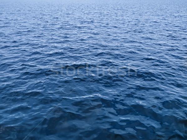 água foto azul textura abstrato oceano Foto stock © SRNR