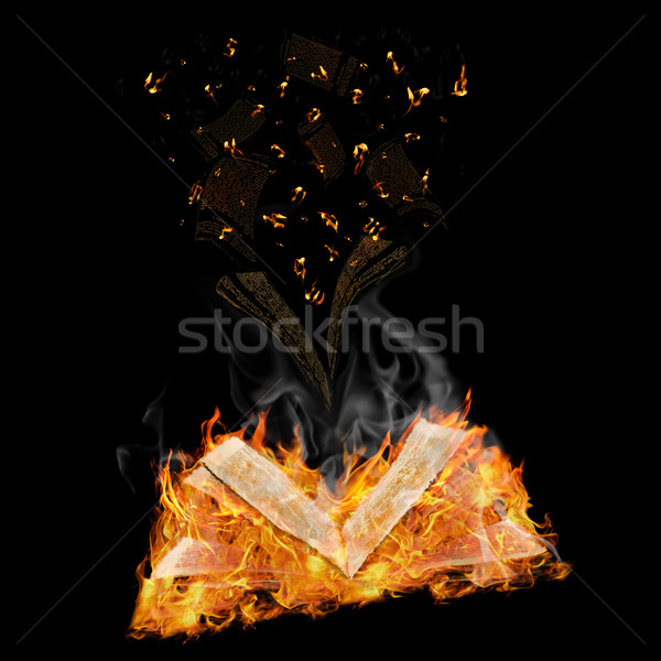 manuscripts do not burn Stock photo © SRNR