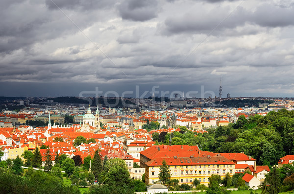 View Of Prague Stock photo © SRNR