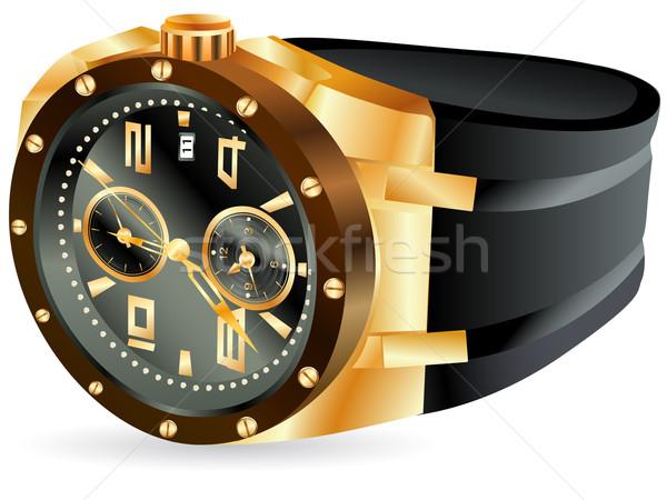 golden man watch Stock photo © SRNR