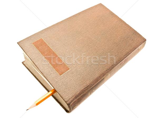 Closed Book Stock photo © SRNR