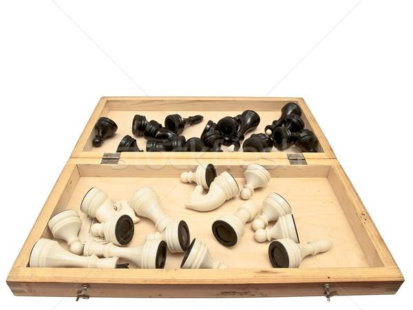 open checkerboard Stock photo © SRNR