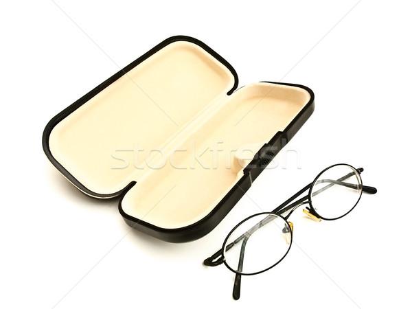 eyeglasses and eyeglass case Stock photo © SRNR