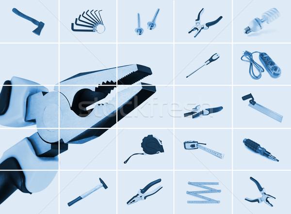 工具 集 不同 儀器的 燈 鋼 商業照片 © SRNR