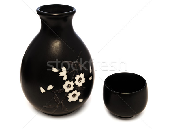 Sake set Stock photo © SRNR