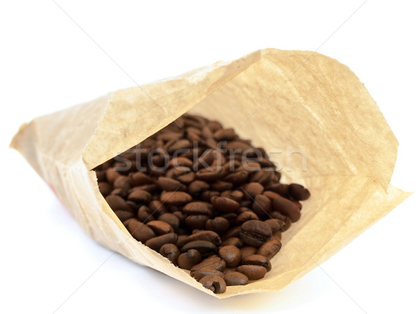 sack with coffee beans Stock photo © SRNR