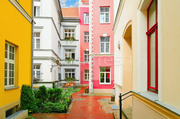 Stock photo: Narrow Riga Street