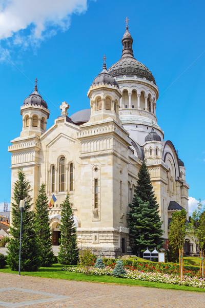 Ortodoks kilise katedral Bina Gotik Stok fotoğraf © SRNR