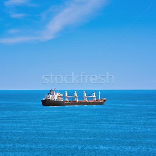 Cargo Ship in the Sea Stock photo © SRNR
