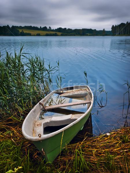 boat at the lake Stock photo © SRNR