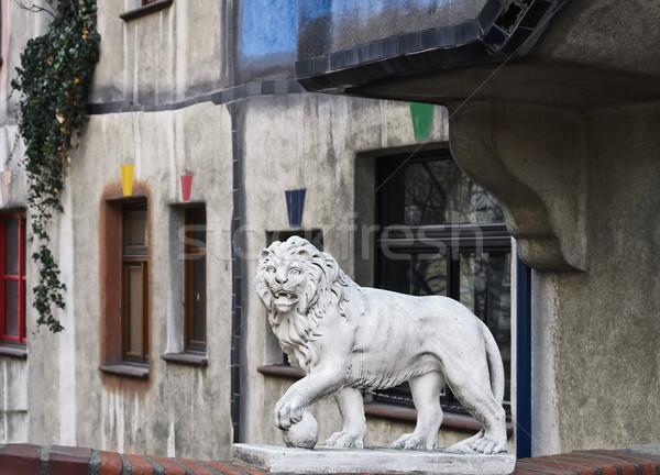 Sculpture Of Lion Stock photo © SRNR