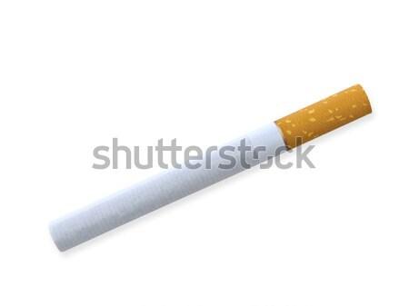 Stock photo: cigarette