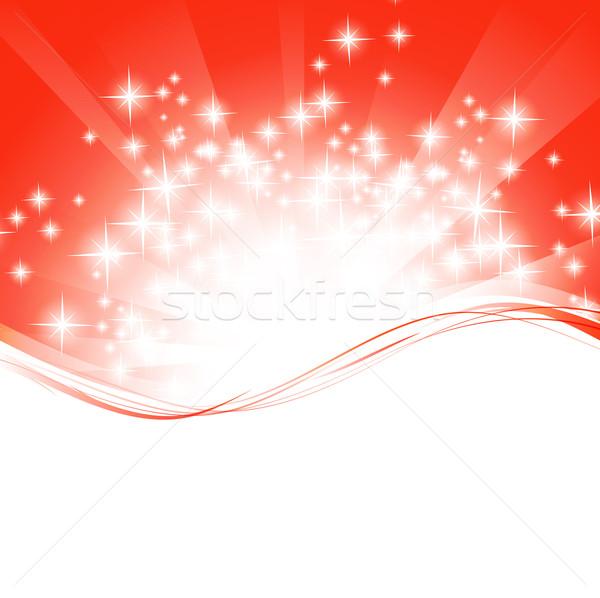 Foto stock: Férias · quadro · ondulado · modelo · brilhante · estrelas